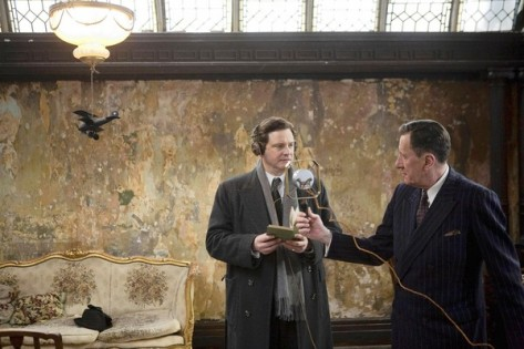 logue recording bertie 473x315 Review: The Kings Speech