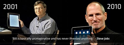billgates stevejobs Book Review: Steve Jobs