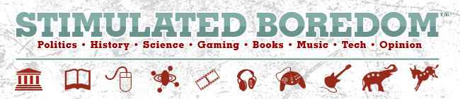 Stimulated Boredom Banner Book Review: Ready Player One by Ernest Cline