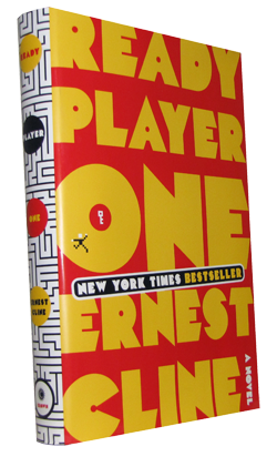 ready player one book cover Book Review: Ready Player One by Ernest Cline