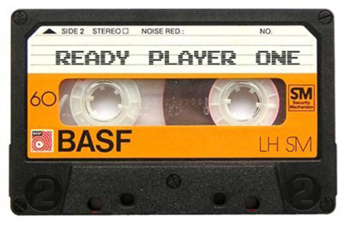 ready player one cassette Book Review: Ready Player One by Ernest Cline