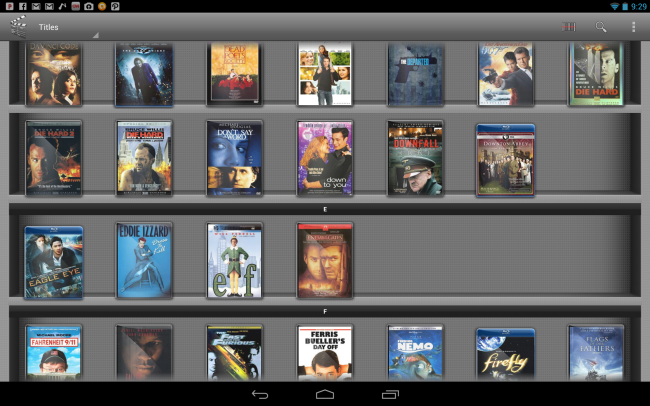 'My Movies' makes it easy to add, organize and share  your entire movie collection