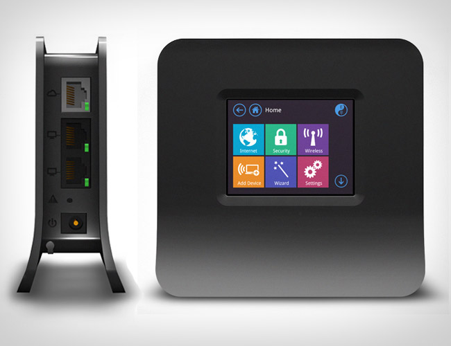 The World's First Touch Screen N Router + Range Extender