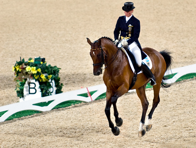 It must have been difficult raising 5 boys and an Olympic  Dressage horse on only $250 Million :(