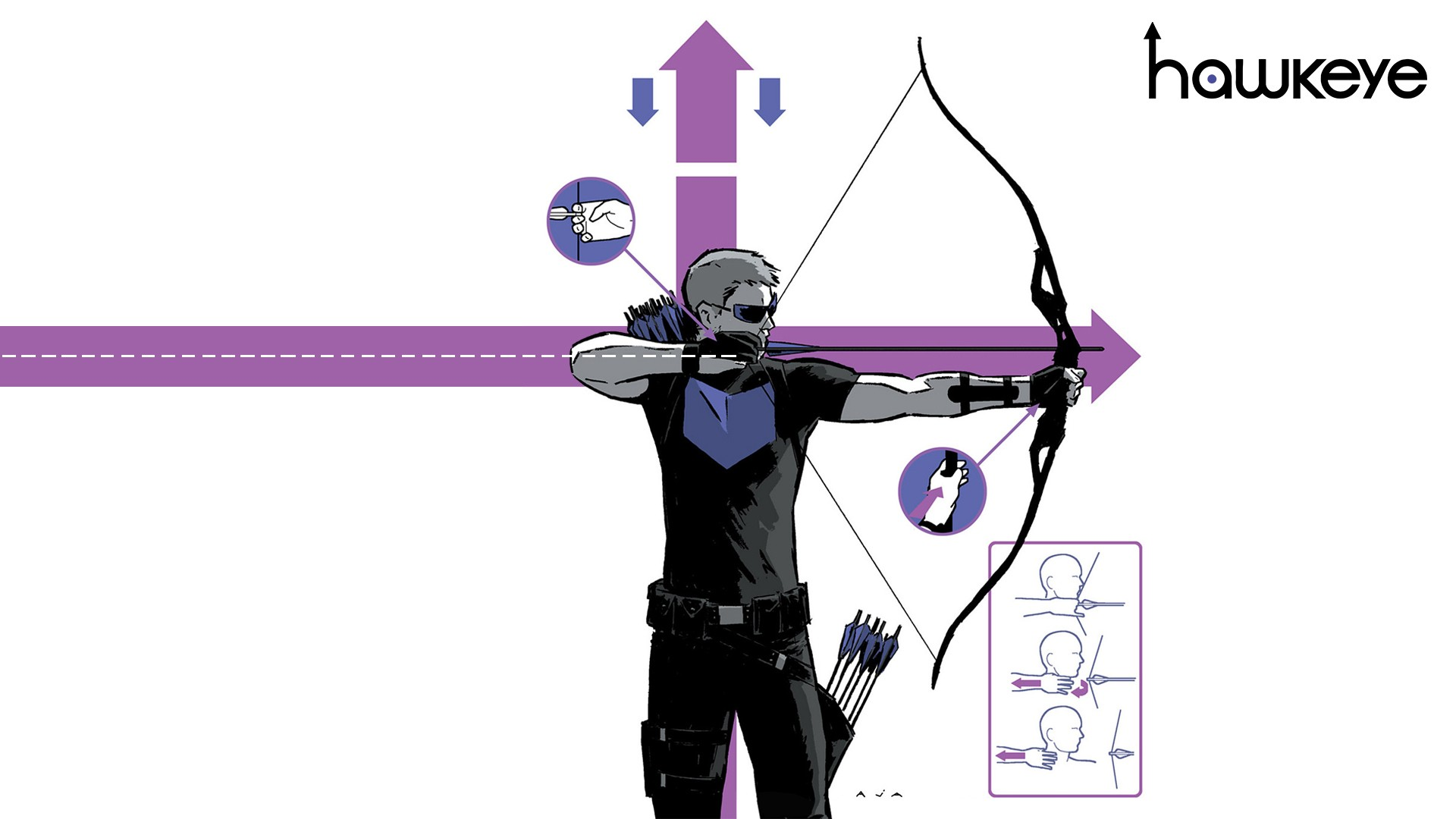 hawkeye david aja stimulated boredom Comic Book Review: Hawkeye Vol 1 My Life as a Weapon