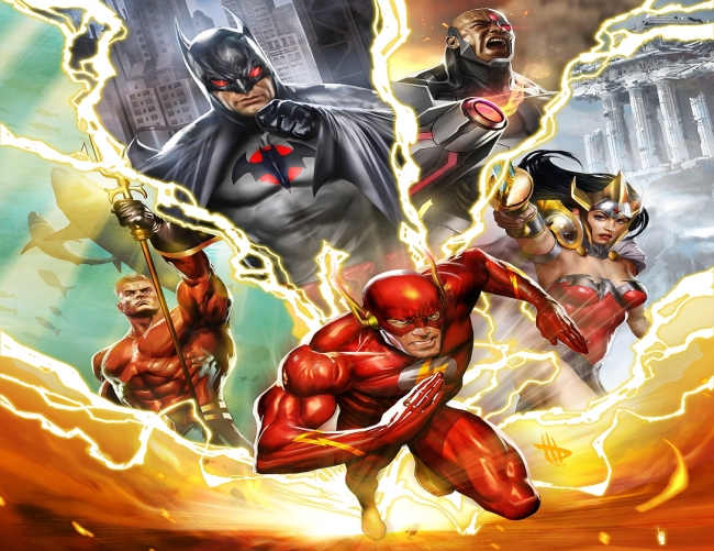 Header JUSTICE_LEAGUE_THE_FLASHPOINT_PARADOX Stimulated Boredom