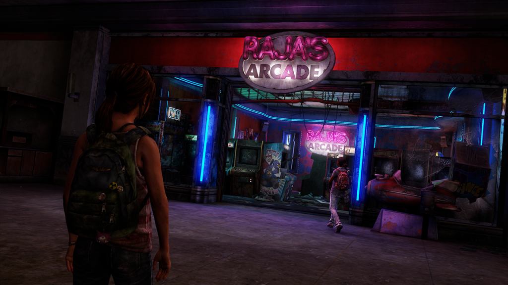 the last of us left behind arcade stimulated boredom