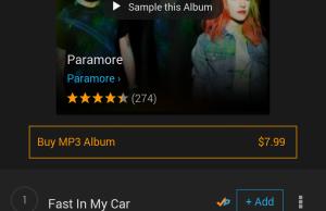 Amazon Prime Music Screenshot Stimulated Boredom