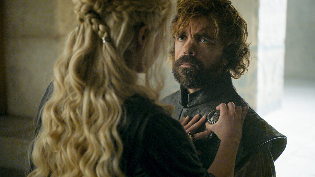Tyrian and Dany, Hand of the Queen, The Winds of Winter